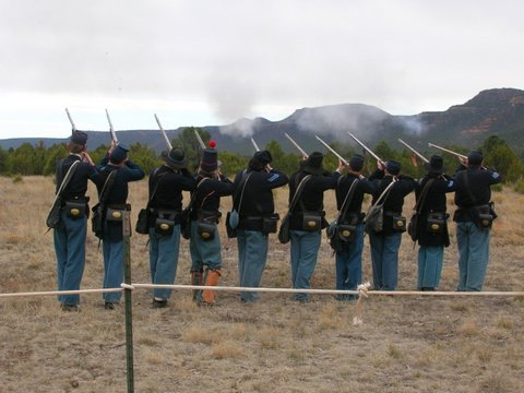Pecos National Historical Park Civil War Weekend 2016