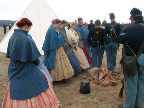 2018 Civil War Encampment – Schedule of Events