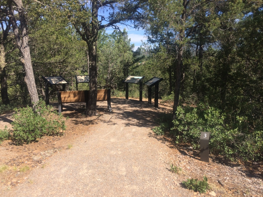 Pecos National Historical Park - Civil War Trail marker 3