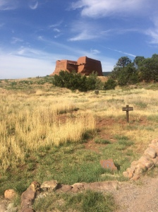 Pecos National Historical Park - Mission Trail marker 2