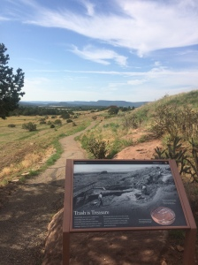 Pecos National Historical Park - Mission Trail - The Trash Mount
