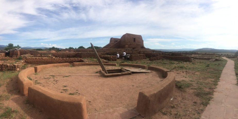 Pecos Mission trail at the Pecos National Historical Park