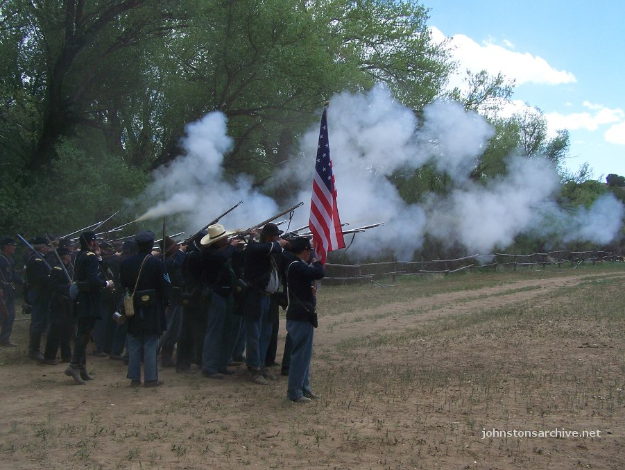 2012 Reenactment at El Rancho de las Golondrinas