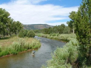Pecos National Historical Park fishing program near Forked Lightning Ranch