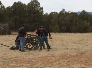 Civil War Encampment at Pecos National Historical Park