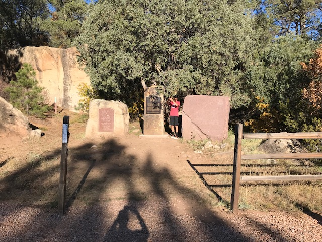 Glorieta Pass Battlefield Monument Clean Up