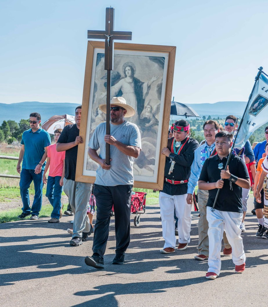Feast Day at Pecos National Historical Park - Procession
