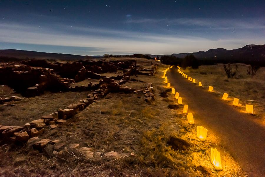 Save the Date: Farolito Walk and Las Posadas  at Pecos National Historical Park
