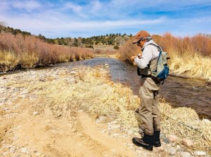 Pecos National Historical Park Fishing program