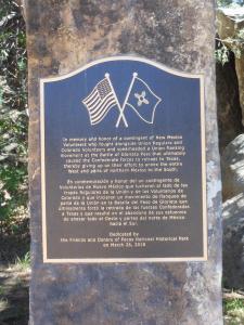 Glorieta Battlefield monument